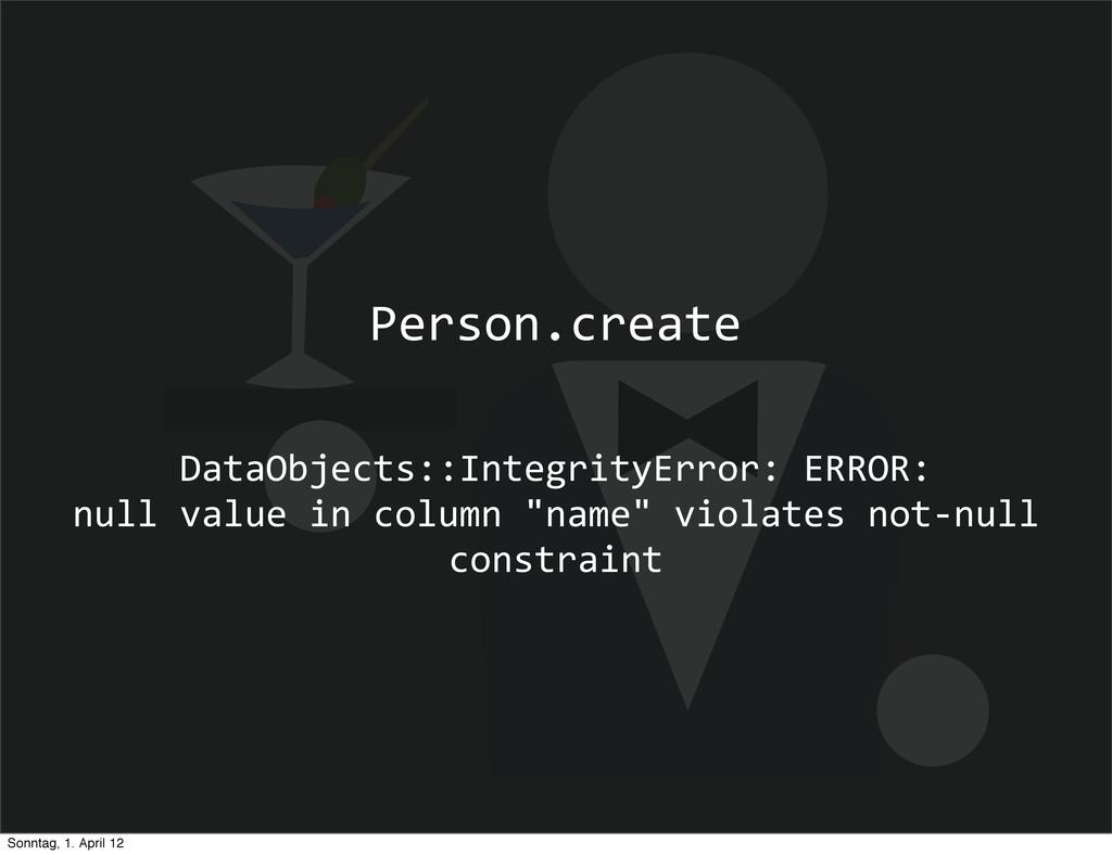 DataObjects::IntegrityError: ERROR:   ...