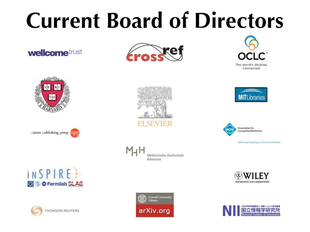 Current Board of Directors