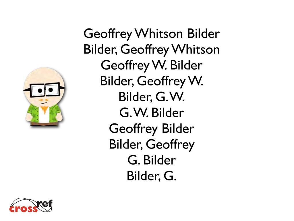Geoffrey Whitson Bilder Bilder, Geoffrey Whitso...