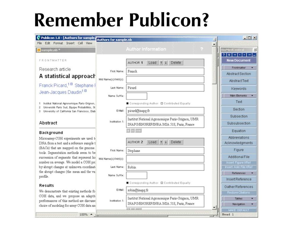 Remember Publicon?