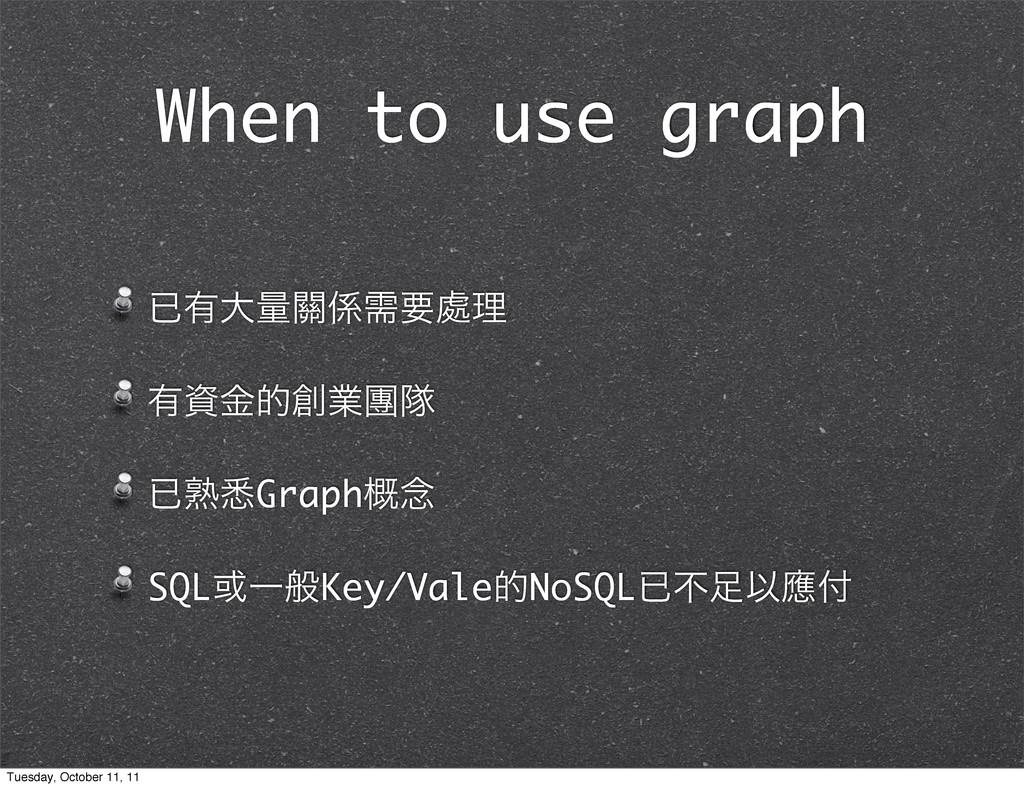 When to use graph ቮ༗େྔ᮫धཁ႔ཧ ༗ۚతۀᅶୂ ቮख़ࣩGraph֓...
