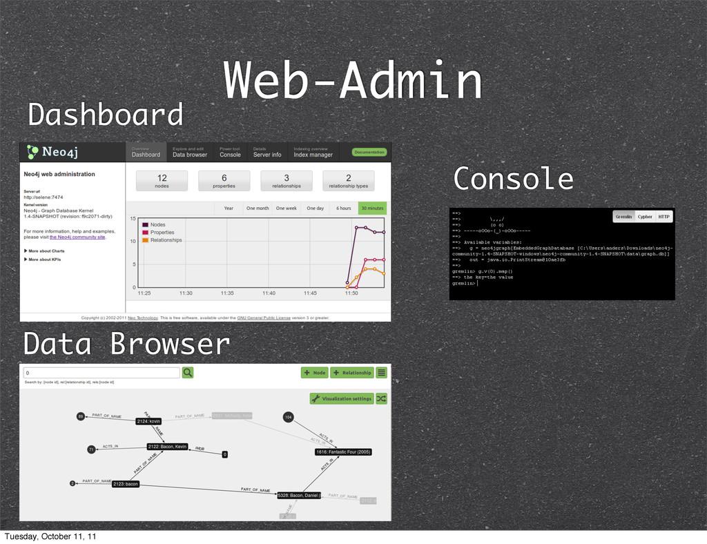 Web-Admin Dashboard Data Browser Console Tuesda...