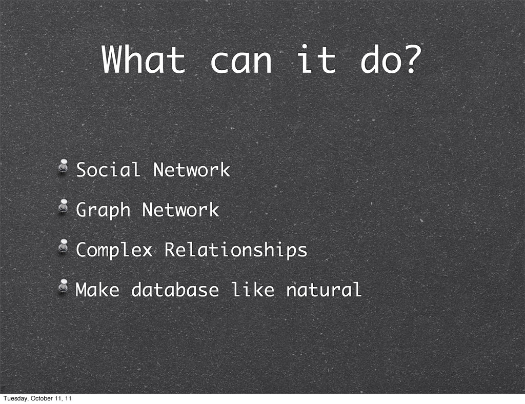 What can it do? Social Network Graph Network Co...