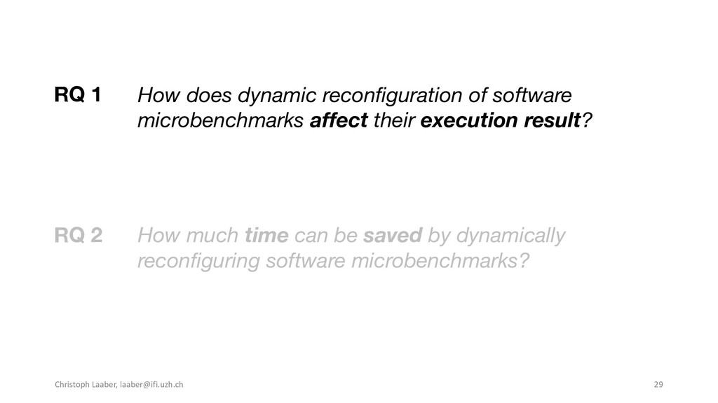How much time can be saved by dynamically recon...