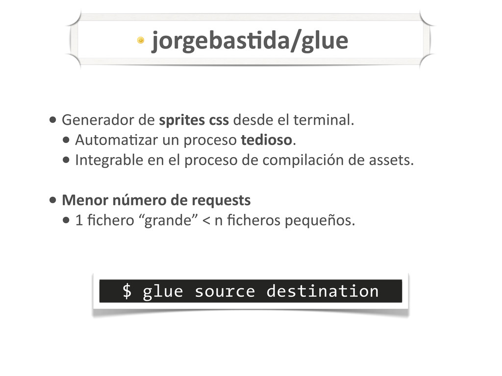 $ glue source destination Z+[*&*(-0%(+0*'&85./6...