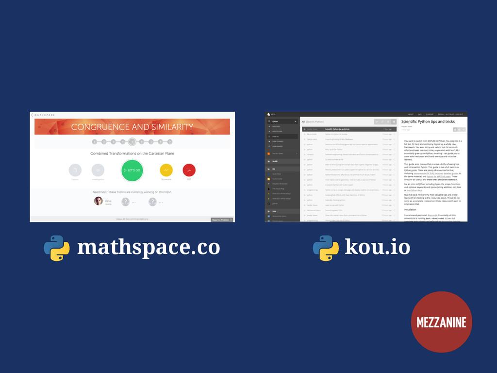 mathspace.co kou.io