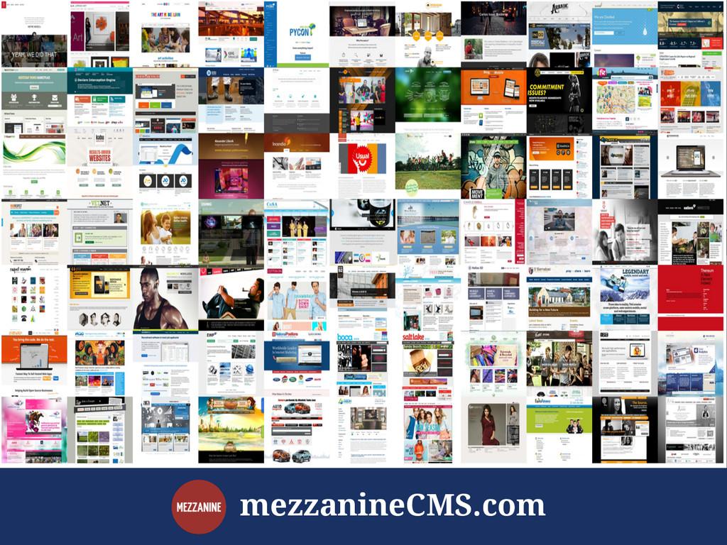 mezzanineCMS.com