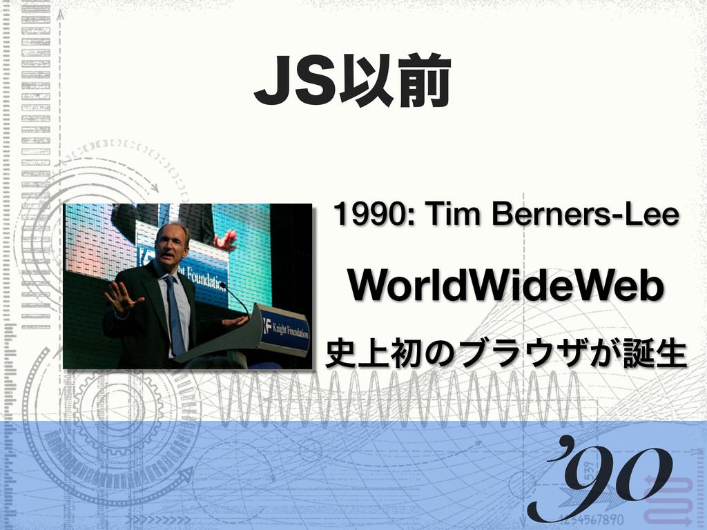 +4Ҏલ 1990: Tim Berners-Lee WorldWideWeb ্ॳͷϒϥ...