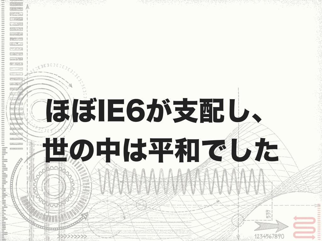 ΄΅*&͕ࢧ͠ɺ ੈͷதฏͰͨ͠