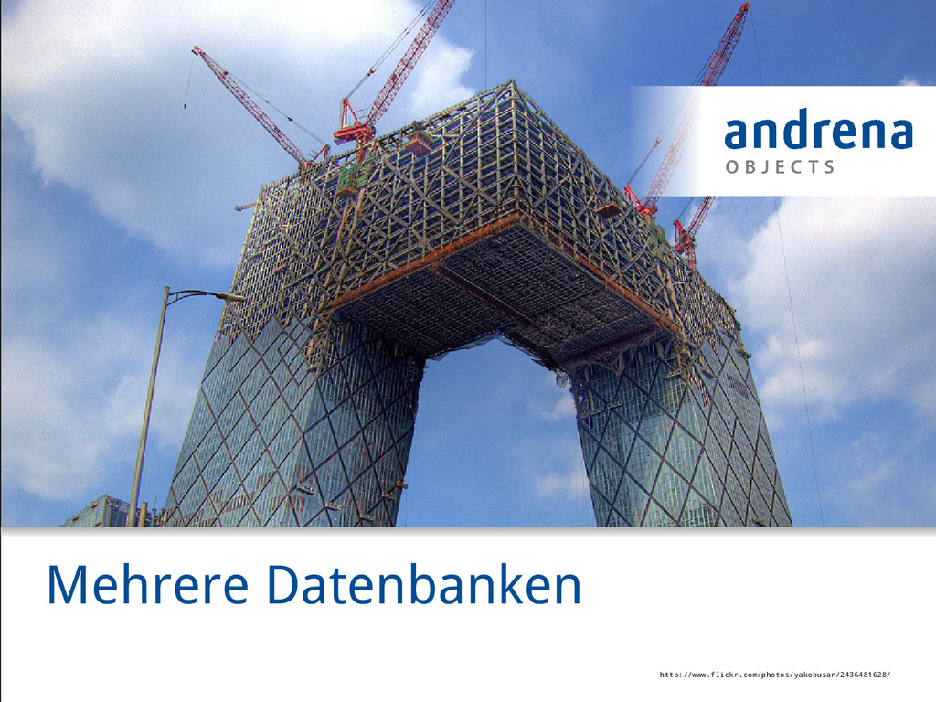 Mehrere Datenbanken http://www.flickr.com/photo...