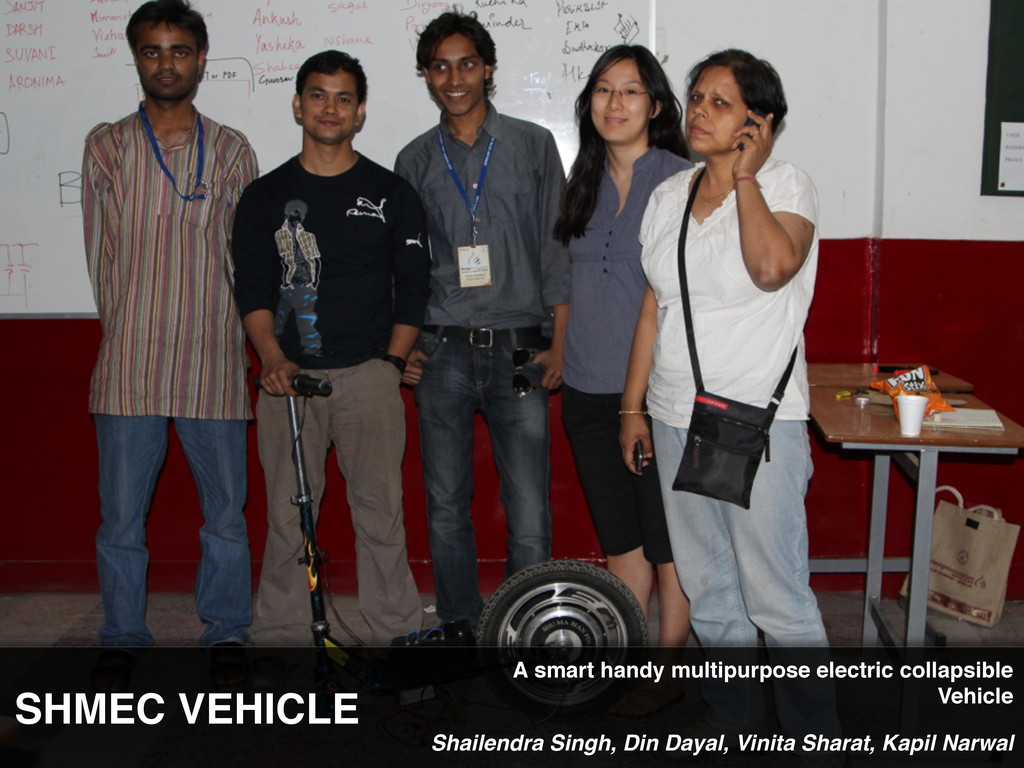 SHMEC VEHICLE Shailendra Singh, Din Dayal, Vini...
