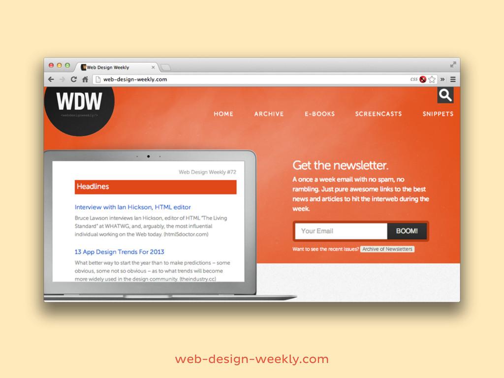 web-design-weekly.com