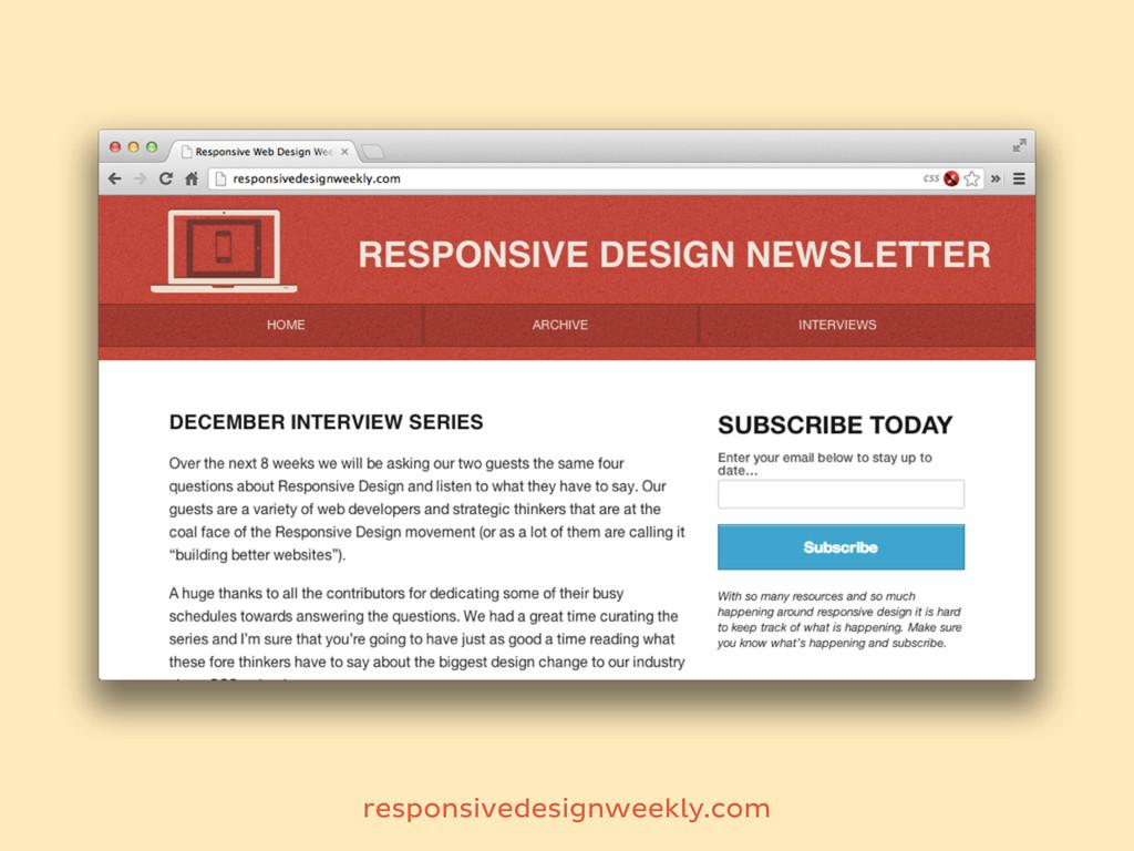 responsivedesignweekly.com