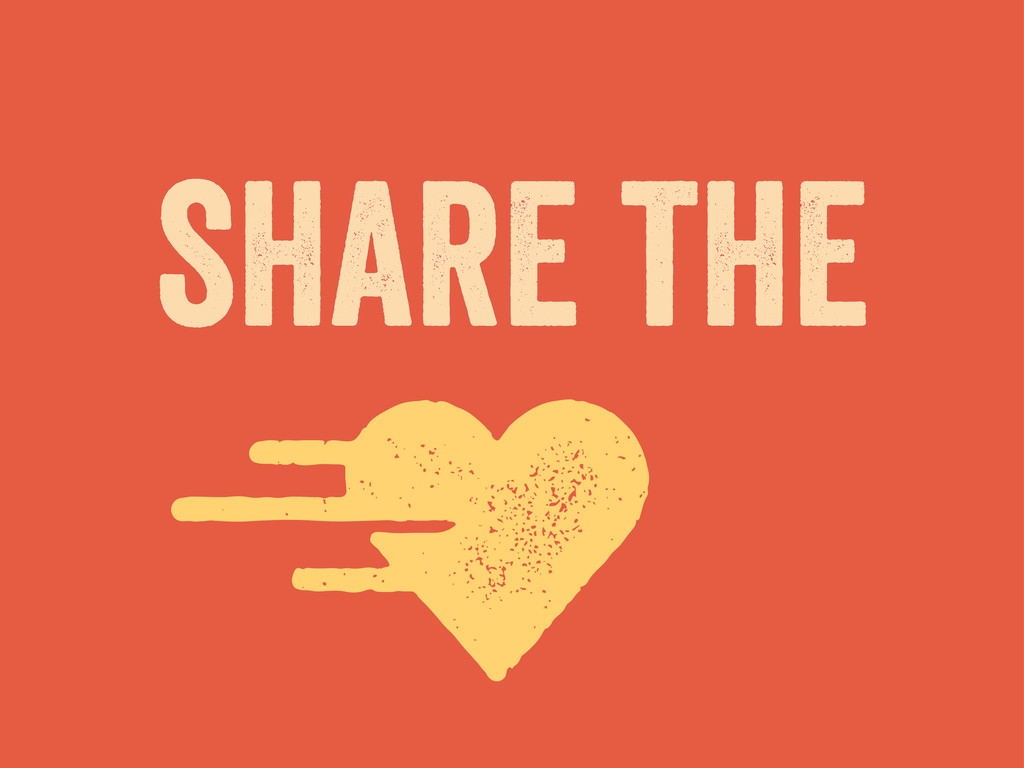 share the v