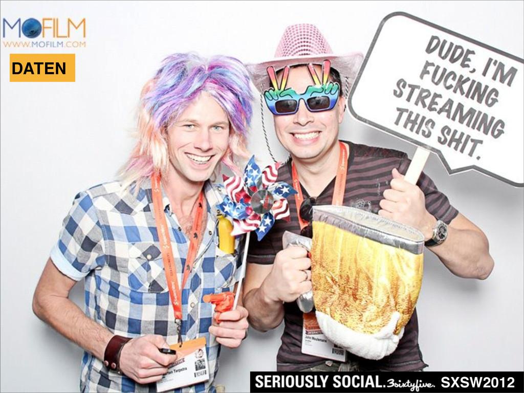 DATEN SXSW2012