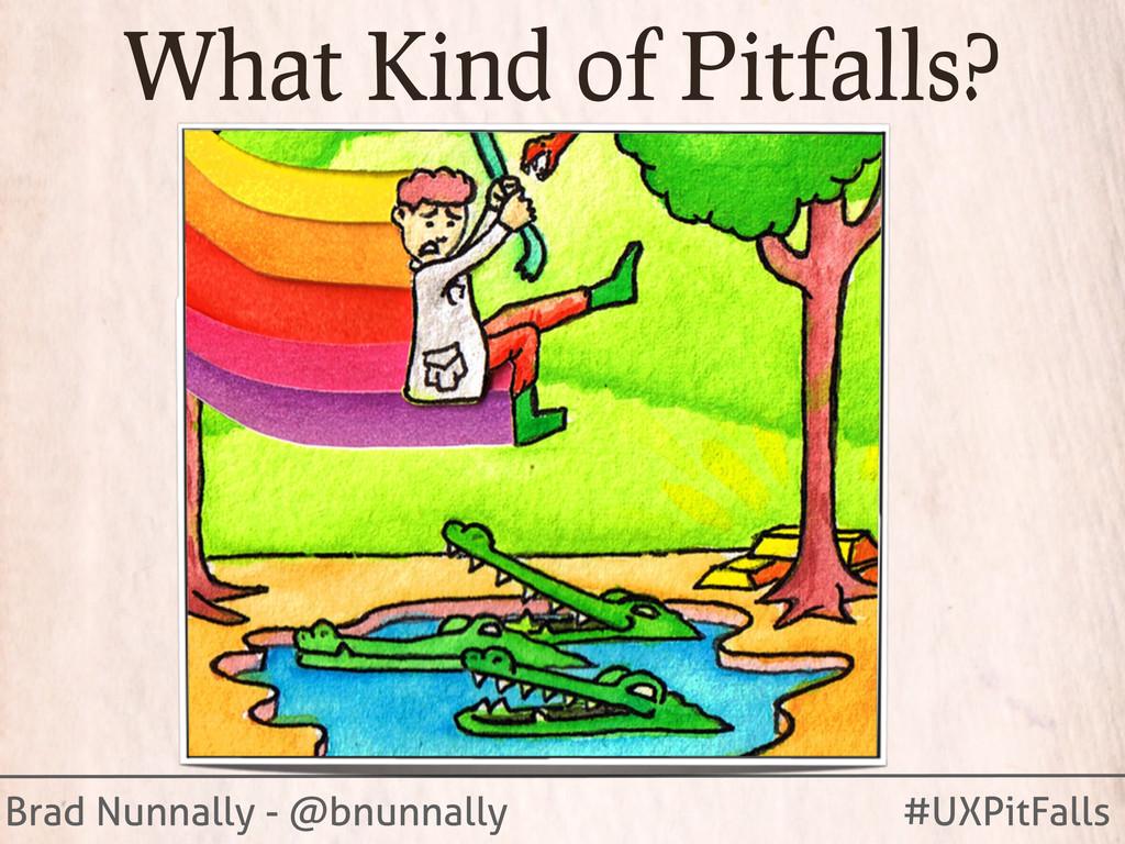 Brad Nunnally - @bnunnally #UXPitFalls What Kin...