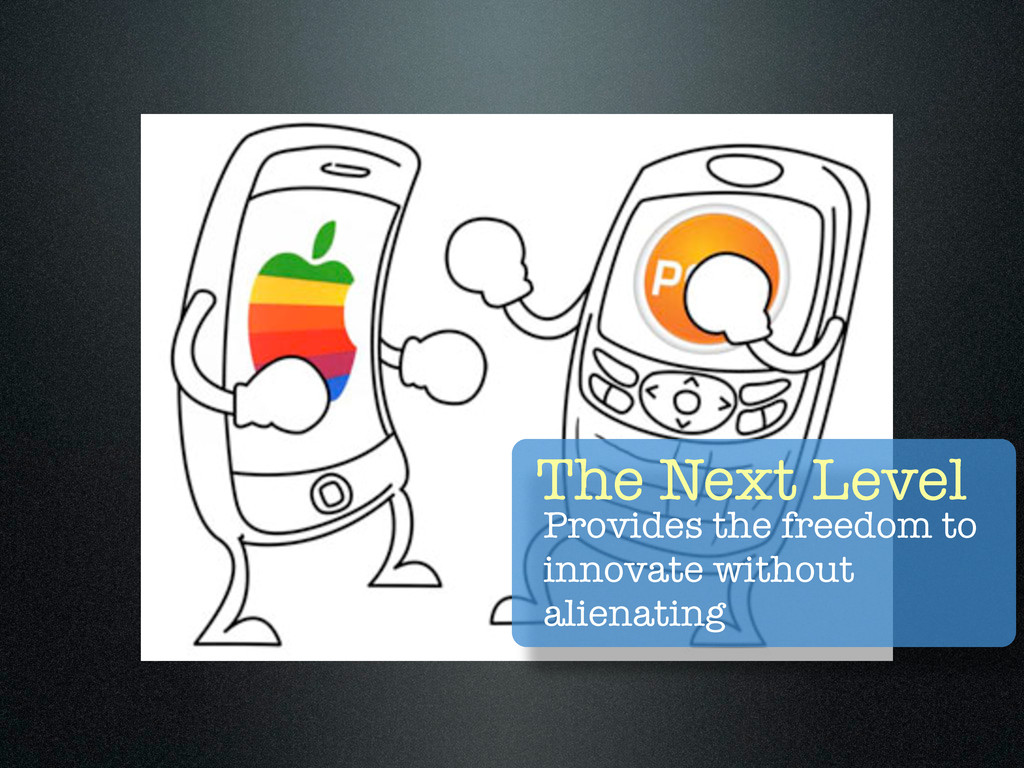 The Next Level Provides the freedom to innovate...