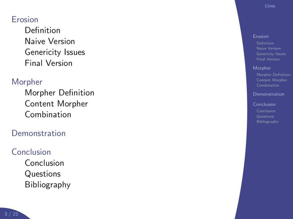 logo Climb Erosion Definition Naive Version Gene...