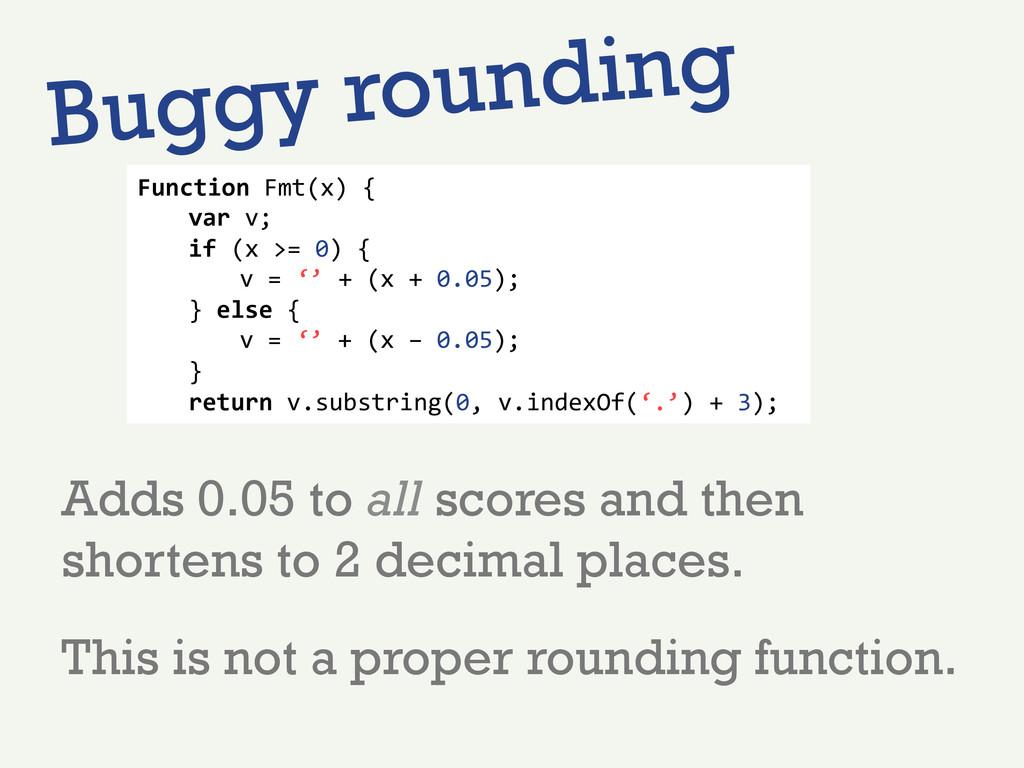 Function Fmt(x) {   var v;  ...