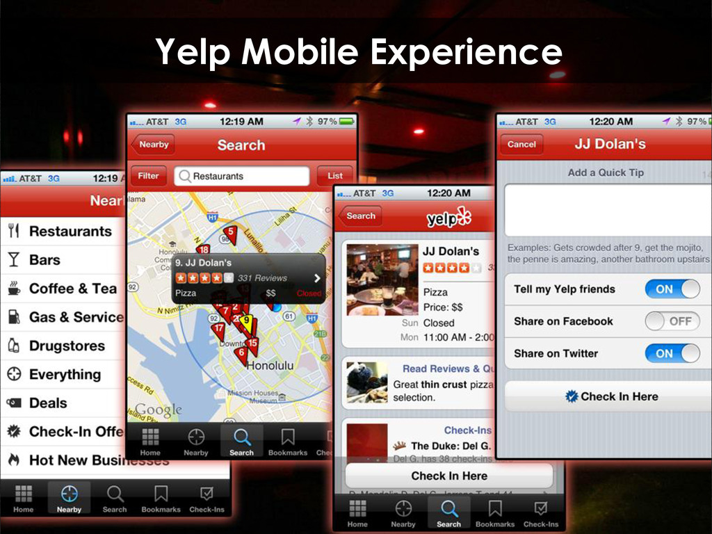 Yelp Mobile Experience