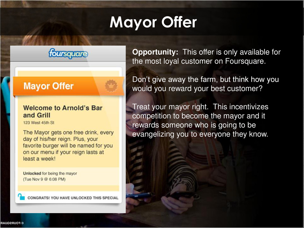 Mayor Offer Opportunity: This offer is only ava...