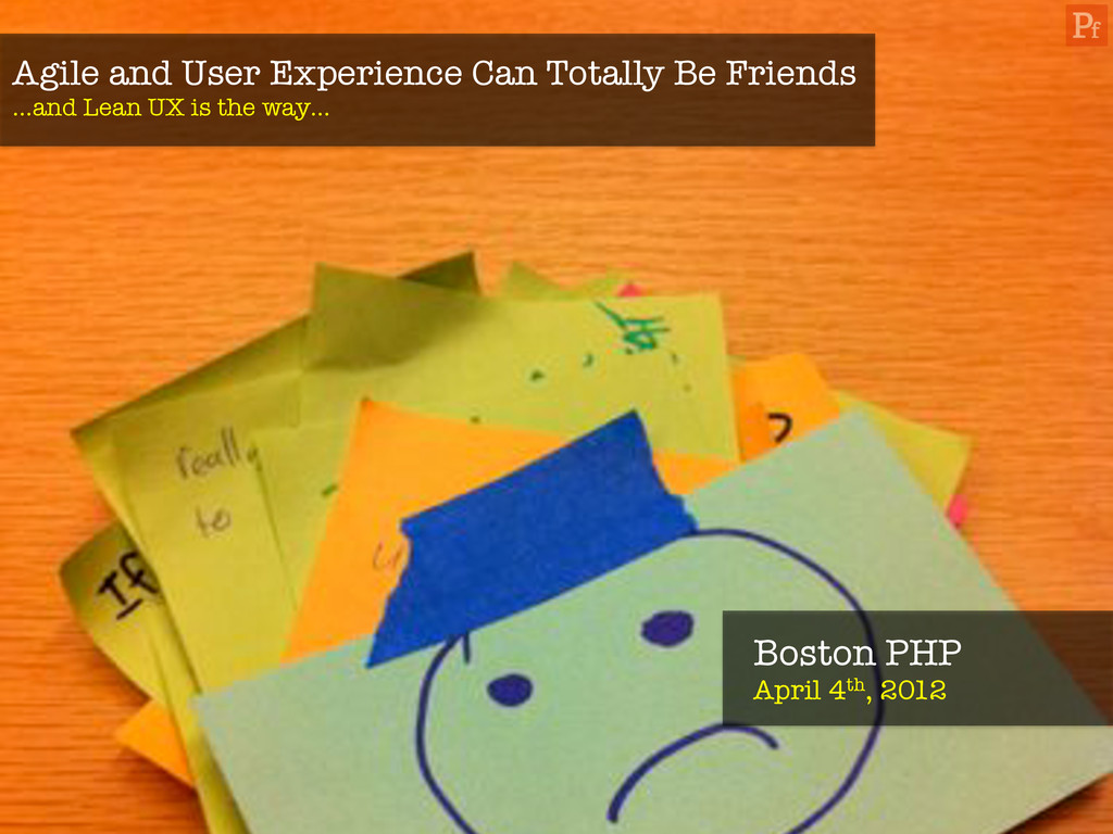 Agile and User Experience Can Totally Be Friend...
