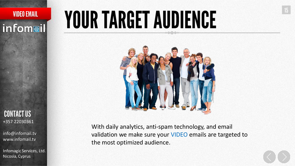 With daily analytics, anti-spam technology, and...