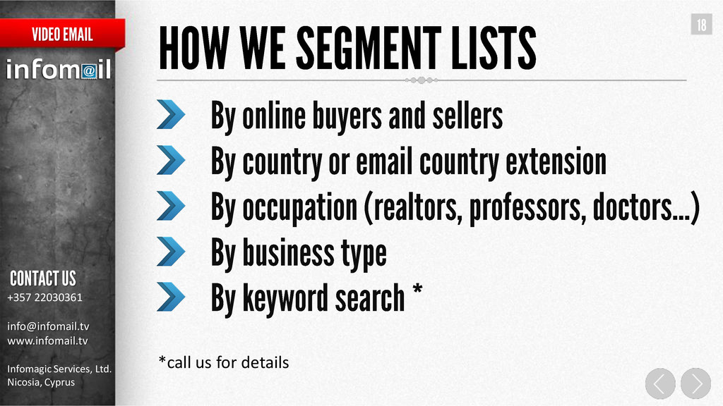 +357 22030361 info@infomail.tv www.infomail.tv ...