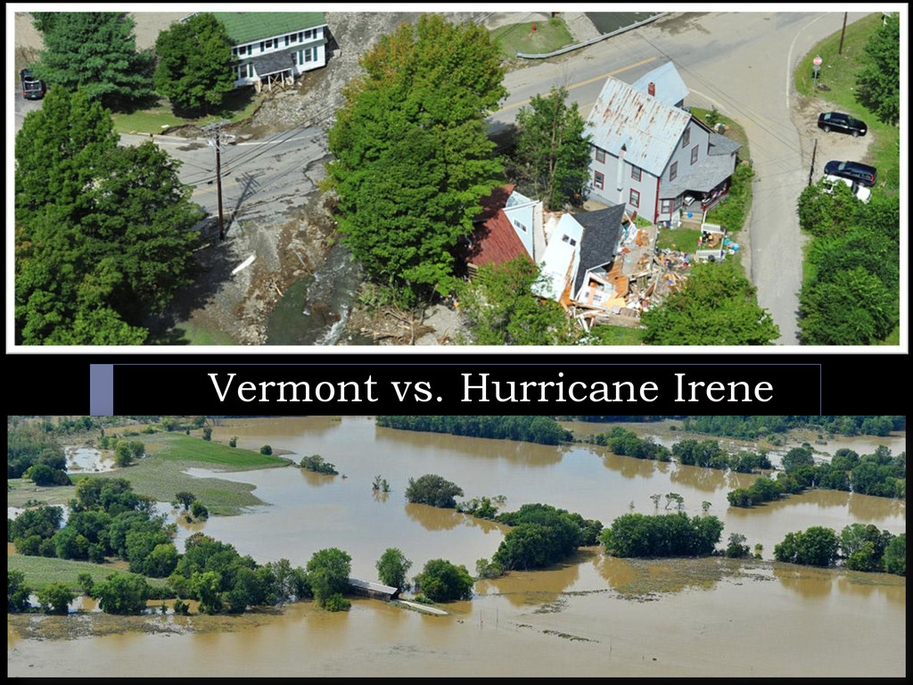 Vermont vs. Hurricane Irene