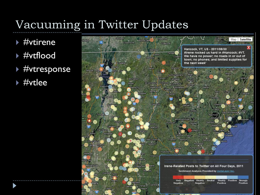 Vacuuming in Twitter Updates  #vtirene  #vtfl...
