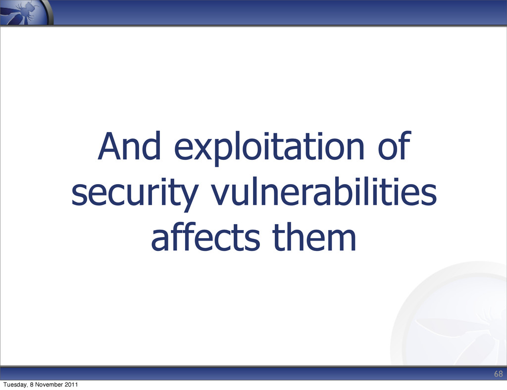 And exploitation of security vulnerabilities af...