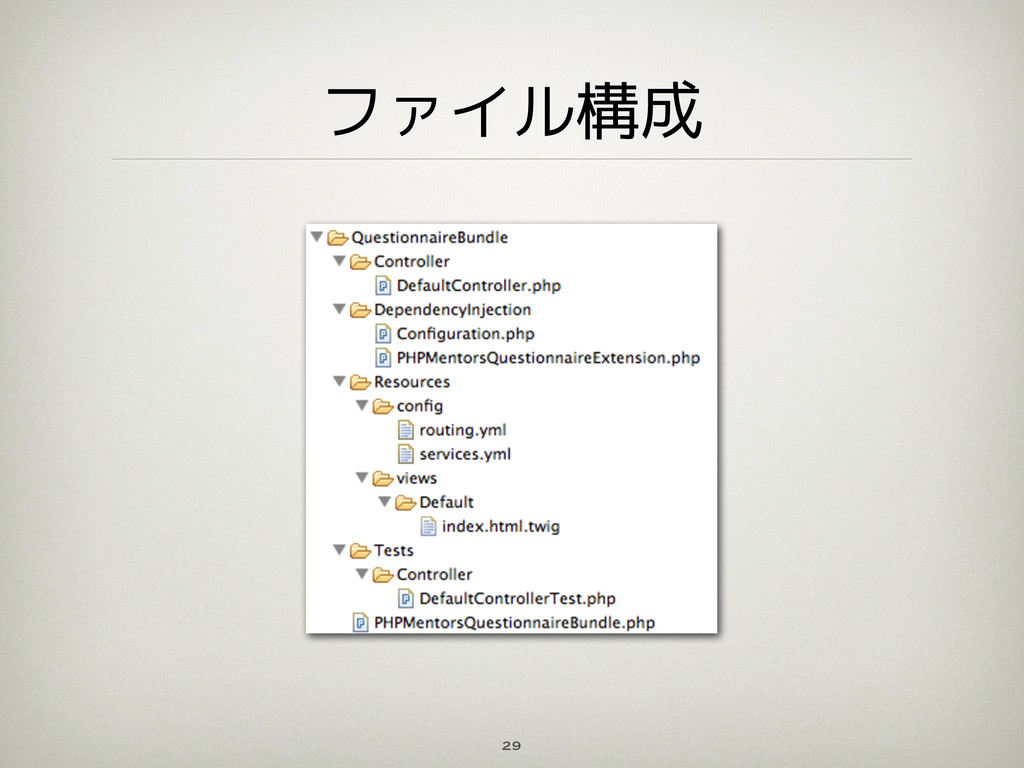 ファイル構成 29