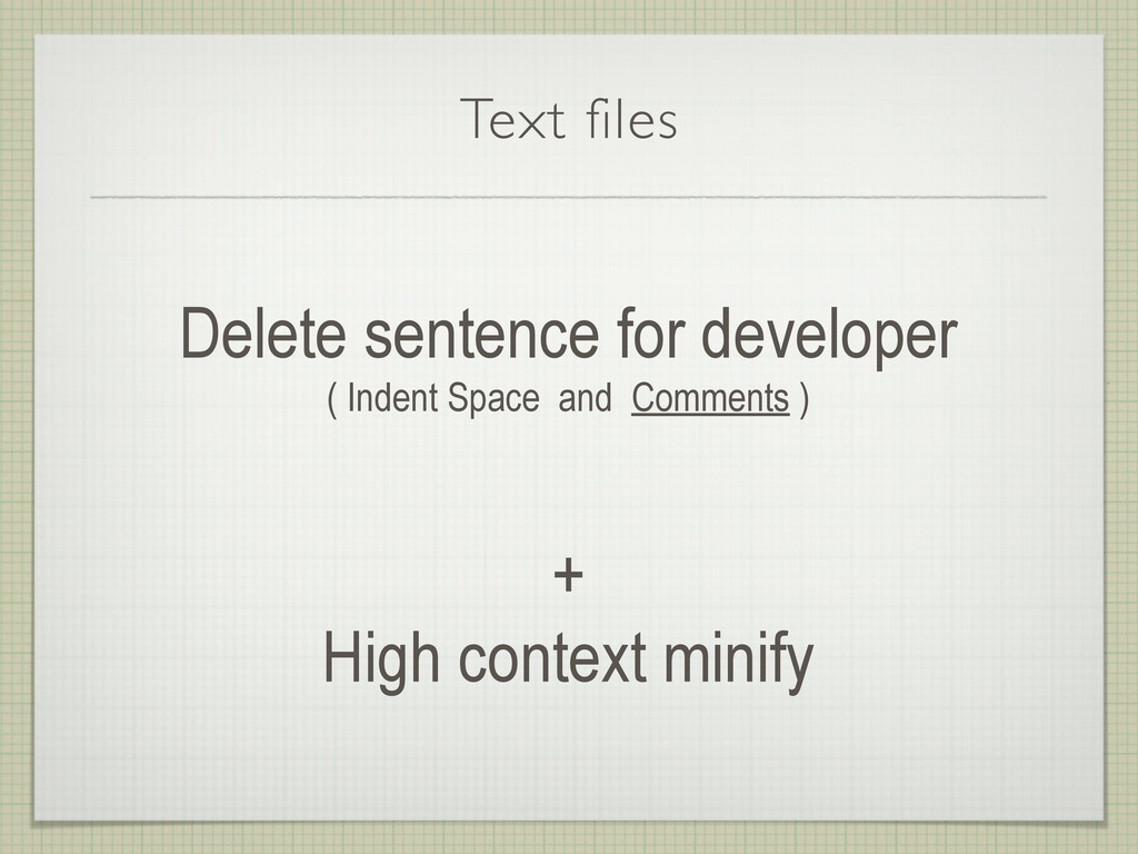 Text files Delete sentence for developer ( Inde...