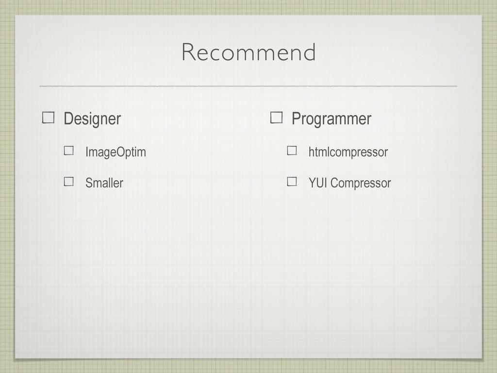 Recommend Programmer htmlcompressor YUI Compres...