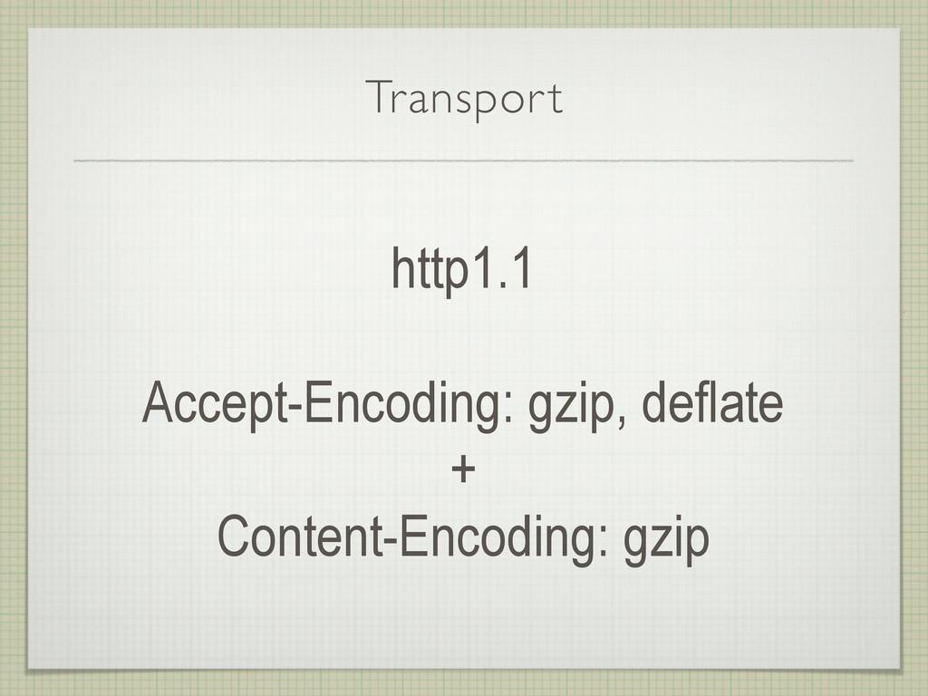 Transport http1.1 Accept-Encoding: gzip, deflat...