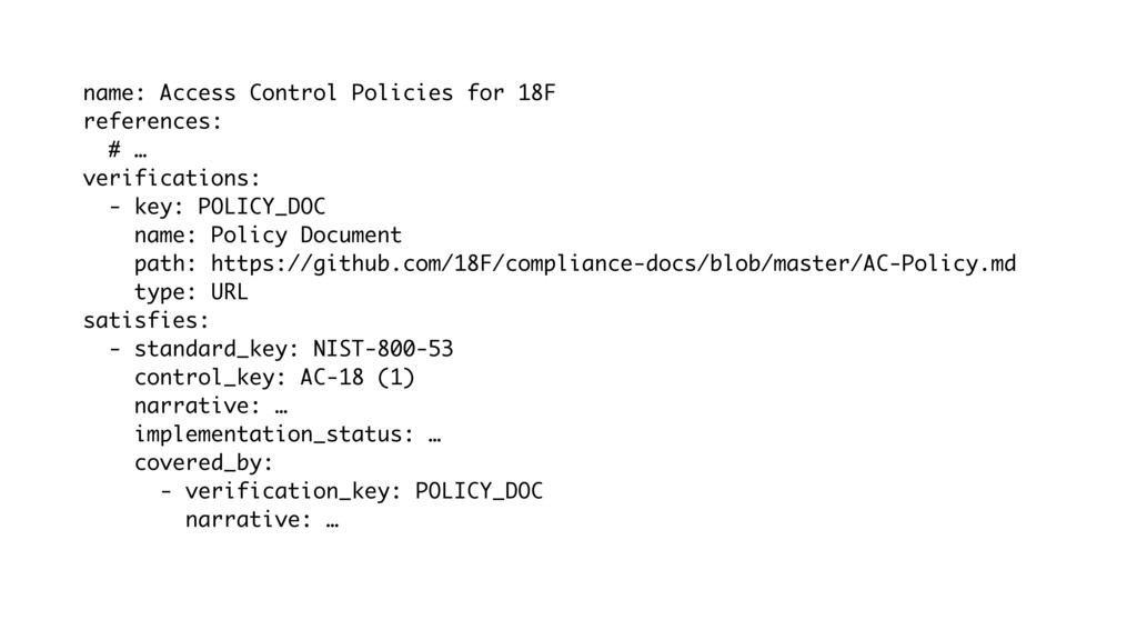 name: Access Control Policies for 18F reference...