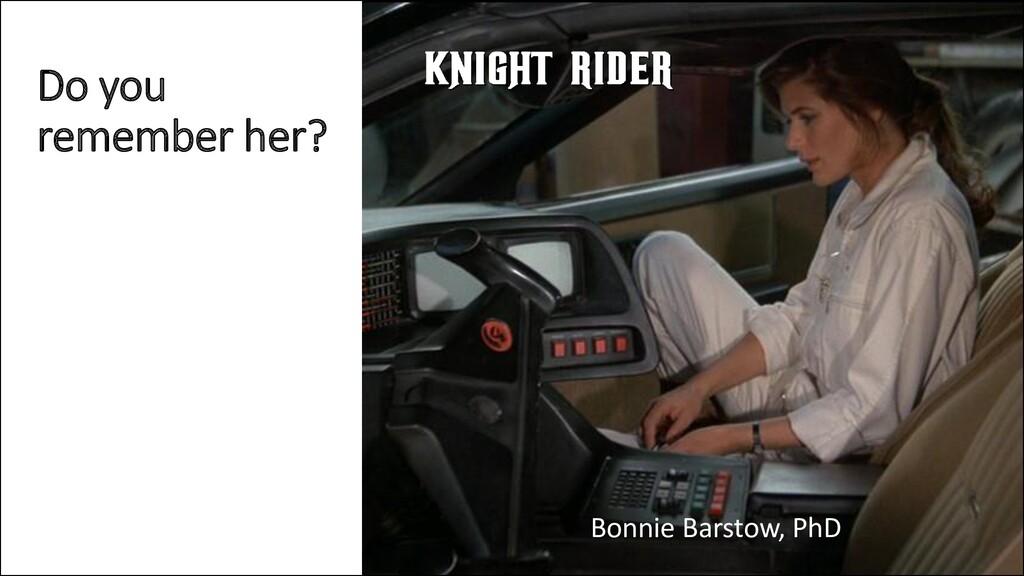@ManfredSteyer Do you remember her? Bonnie Bars...