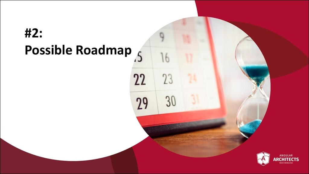 @ManfredSteyer #2: Possible Roadmap