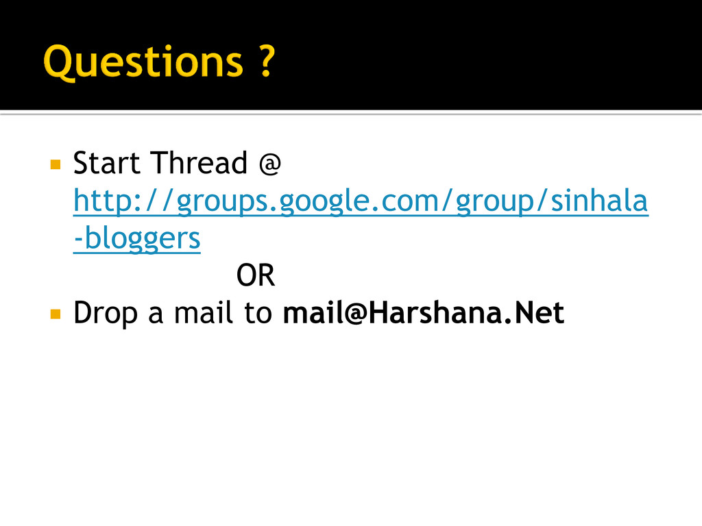  Start Thread @ http://groups.google.com/group...