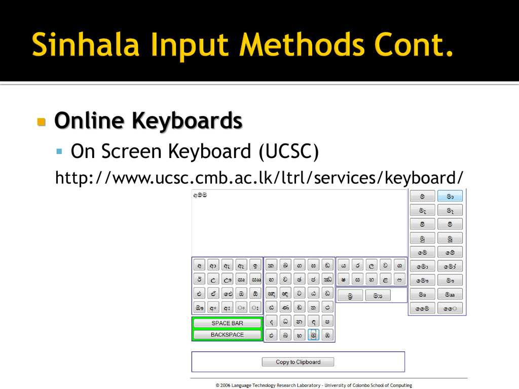  Online Keyboards  On Screen Keyboard (UCSC) ...