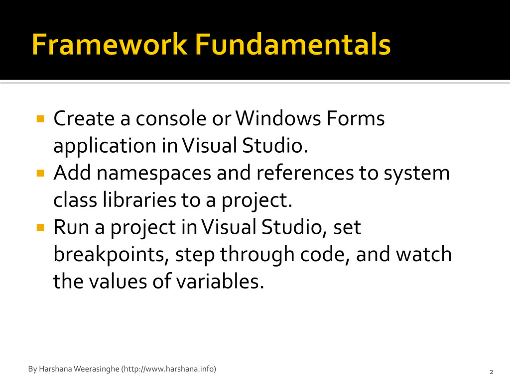  Create a console or Windows Forms application...