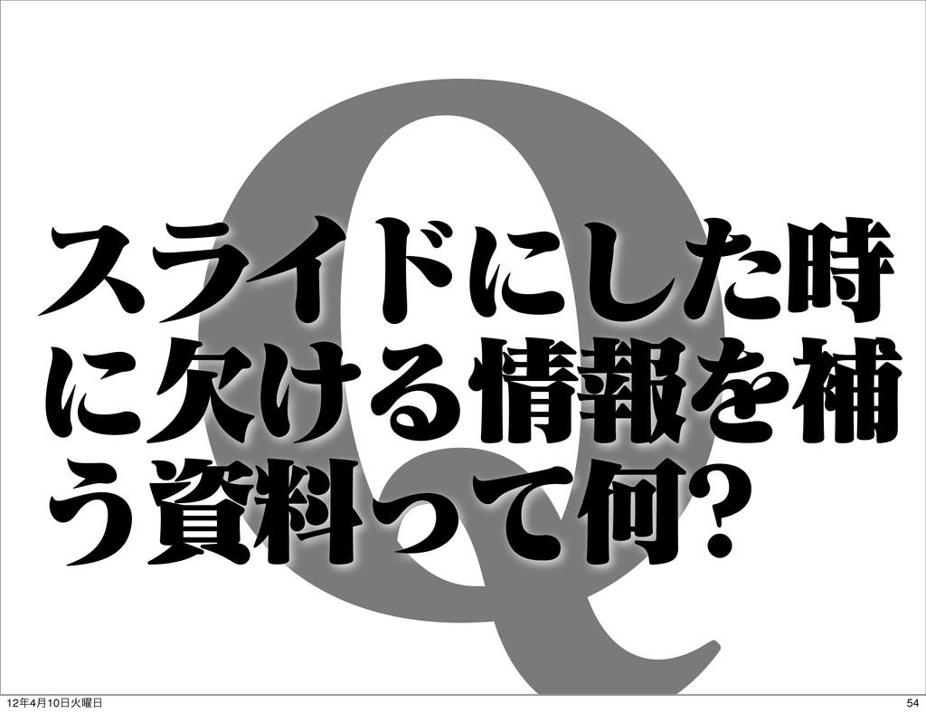 2 εϥΠυʹͨ͠ ʹ͚ܽΔใΛิ ͏ྉͬͯԿ 54 124݄10Ր༵