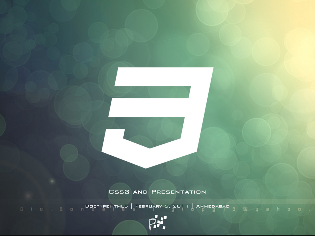 Css3 and Presentation DoctypeHtml5 | February 5...