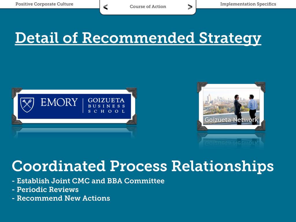 Coordinated Process Relationships - Establish J...