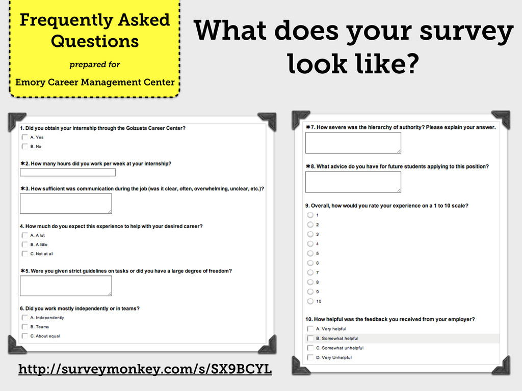 Frequently Asked Questions Emory Career Managem...