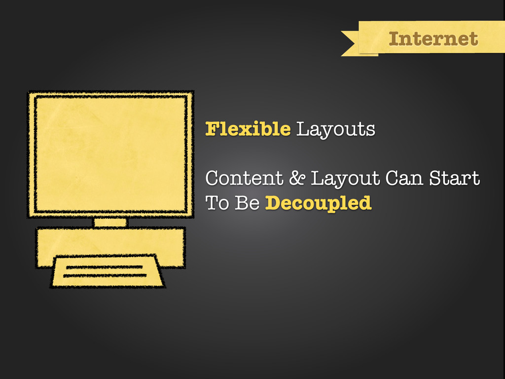 Internet Flexible Layouts Content & Layout Can ...