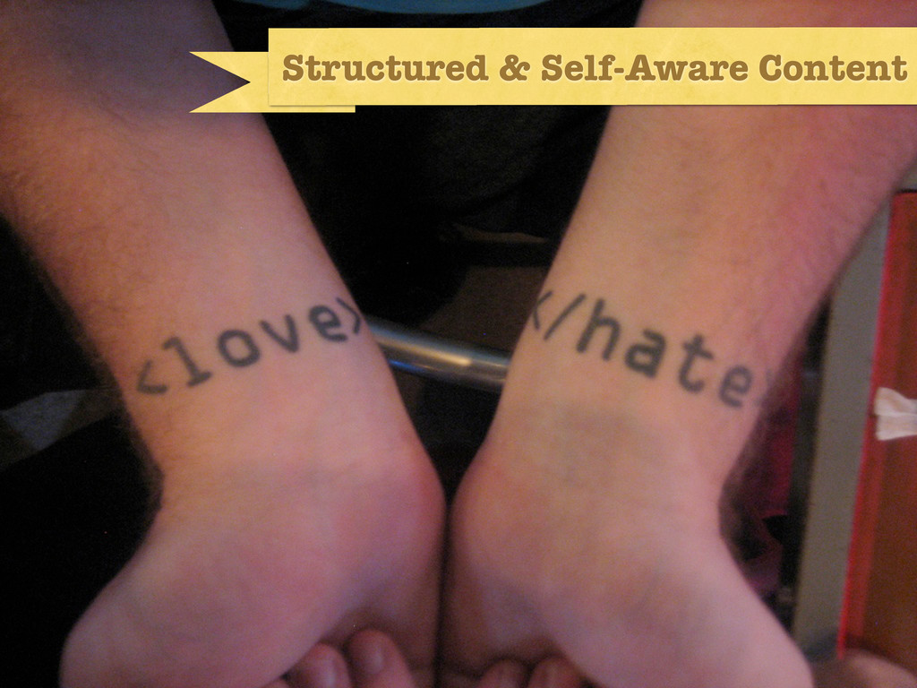 structured & self-aware content Structured & Se...