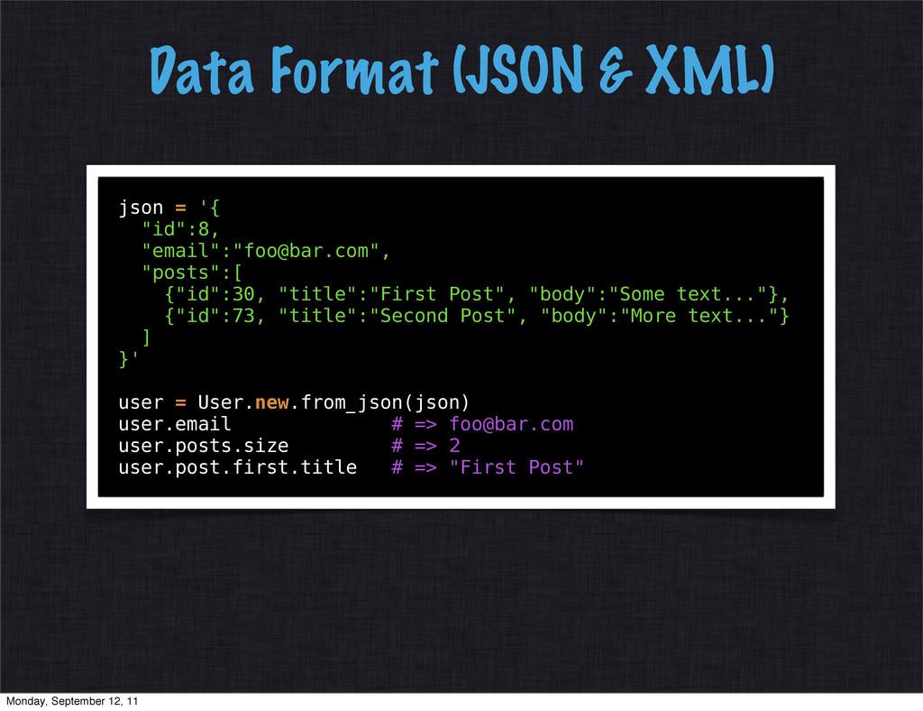 "json = '{ ""id"":8, ""email"":""foo@bar.com"", ""posts..."