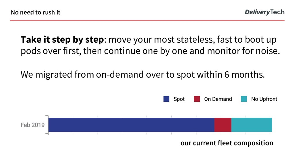 Take it step by step: move your most stateless,...