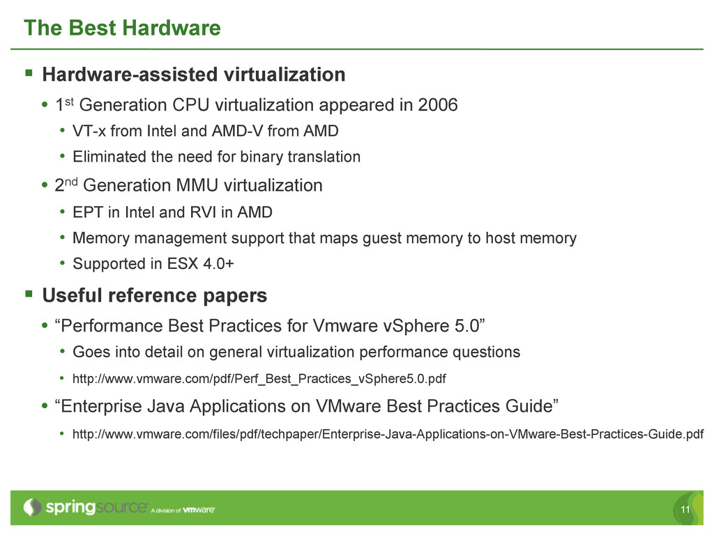 11 The Best Hardware § Hardware-assisted virt...